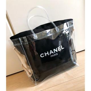 CHANEL - 2way ビニールバッグ 巾着袋 マザーズバッグ  トートバッグ ハンドバッグ