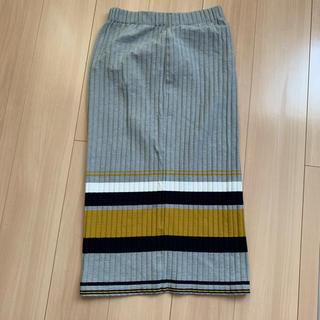 AZUL by moussy - スリット入りスカート