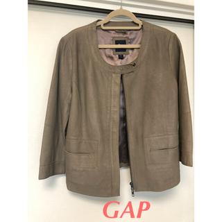 ギャップ(GAP)のGAP   山羊革  ジャケット(ノーカラージャケット)