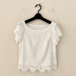 アンドクチュール(And Couture)のアンドクチュール♡プルオーバーシャツ(シャツ/ブラウス(半袖/袖なし))