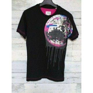 エナジー(ENERGIE)のENERGIE エナジー ミラーボール Tシャツ misssixty ブラック(Tシャツ/カットソー(半袖/袖なし))