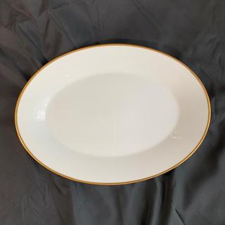 ノリタケ(Noritake)のノリタケ ゴールドライン 白プレート(食器)