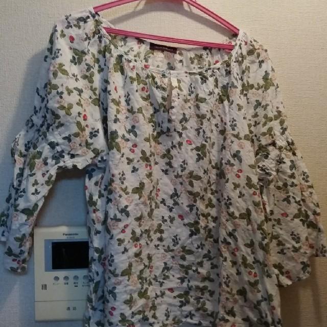 URBAN RESEARCH(アーバンリサーチ)のアーバンリサーチ👚ベリー柄リボン袖ブラウス レディースのトップス(シャツ/ブラウス(長袖/七分))の商品写真