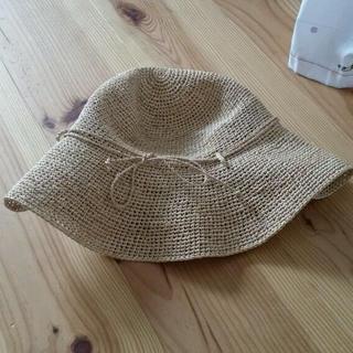 ムジルシリョウヒン(MUJI (無印良品))の無印 麦わら帽子(麦わら帽子/ストローハット)