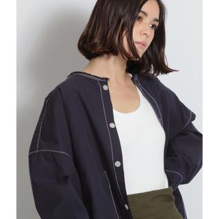 ニコアンド(niko and...)のオックス無地柄ショートシャツ(シャツ/ブラウス(長袖/七分))