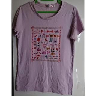 ユニクロ(UNIQLO)の キティTシャツ 手芸素材に[サイズ内無料同梱](その他)
