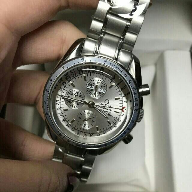 リシャール・ミル時計スーパーコピー大特価 、 OMEGA - Omega オメガのスピードマスター デイデイト ブランド腕時計の通販 by ムネシ's shop|オメガならラクマ