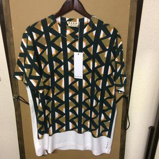マルニ(Marni)の【新品】MARNI  プリントTシャツ 48サイズ(Tシャツ/カットソー(半袖/袖なし))