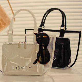フォクシー(FOXEY)の完売  フォクシー  FOXEY  PVC バッグ  ワンピースに(ハンドバッグ)