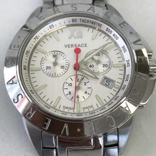 ヴェルサーチ(VERSACE)のヴェルサーチ 腕時計 クロノグラフ メンズ 美品(腕時計(アナログ))