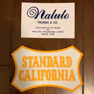 スタンダードカリフォルニア(STANDARD CALIFORNIA)のナルトトランクス&スタンダードカリフォルニア ステッカー(その他)