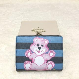 ヴィヴィアンウエストウッド(Vivienne Westwood)のtaxtu様専用 新品♡Vivienne Westwood テディベア 折り財布(財布)