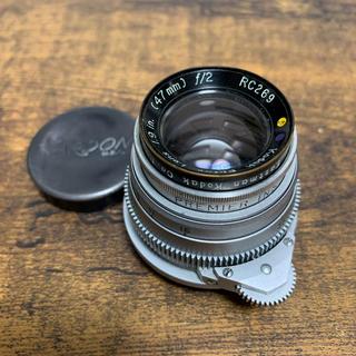 ライカ(LEICA)のLマウント Kodak Ektar エクター 47/2  軍用 ライカLeica(レンズ(単焦点))