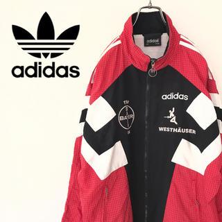 アディダス(adidas)の【ドイツ古着】アディダス ナイロンジャケット トラックジャケット 90s ユーロ(ナイロンジャケット)