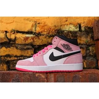 AIR JORDAN 1 MID SE Crimson Pink エアジョーダン(スニーカー)