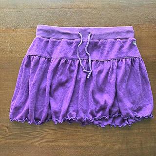 ロキシー(Roxy)の【美品】ROXY スカート 紫色(ショートパンツ)