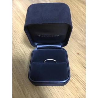 ティファニー(Tiffany & Co.)の美品 ティファニー メトロリング 18金 イエローゴールド エタニティ 9号(リング(指輪))