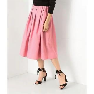 デミルクスビームス(Demi-Luxe BEAMS)のデミルクスビームス タックフレアスカート 38(ひざ丈スカート)