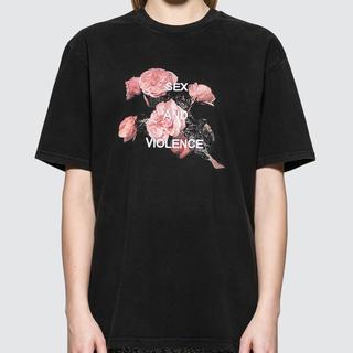 ラフシモンズ(RAF SIMONS)のMISBHV(ミスビへイブ)sex and violence t-shirt(Tシャツ/カットソー(半袖/袖なし))