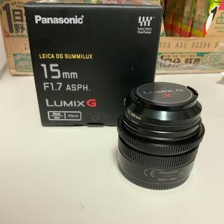 ライカ(LEICA)のf1.7 15mm leica(レンズ(単焦点))
