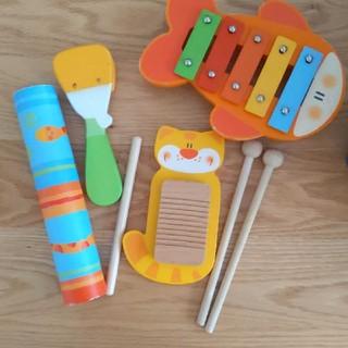 ボーネルンド(BorneLund)の楽器 木製 おもちゃ ベビー キッズ(楽器のおもちゃ)