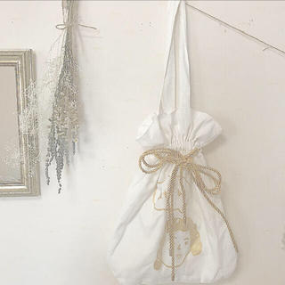 メルロー(merlot)の巾着トート(トートバッグ)