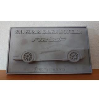 フェラーリ(Ferrari)のFerrari F12tdf 2016 記念プレート 希少品 スタンド付き(その他)