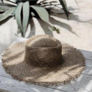 ルームサンマルロクコンテンポラリー(room306 CONTEMPORARY)のsea grass hat / lock of color 同型(麦わら帽子/ストローハット)