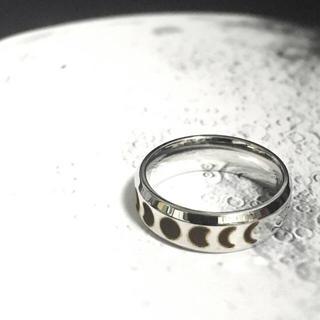 月の満ち欠けリング(リング(指輪))