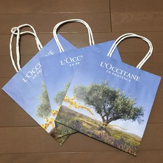 ロクシタン(L'OCCITANE)のロクシタン❤︎ショップ袋(ショップ袋)