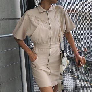 アリシアスタン(ALEXIA STAM)のjuemi EMB Western Dress(ミニワンピース)