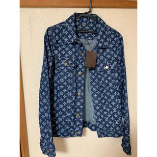 ルイヴィトン(LOUIS VUITTON)のLouis Vuitton  モノグラムデニムジャケット 46 正規品(Gジャン/デニムジャケット)