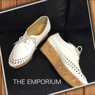 ジエンポリアム(THE EMPORIUM)の【ジ エンポリアム】厚底ローファー(ローファー/革靴)