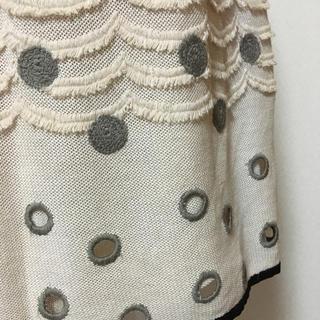 ミナペルホネン(mina perhonen)のH.P.FRANCE ミナペルホネンスカート(ひざ丈スカート)