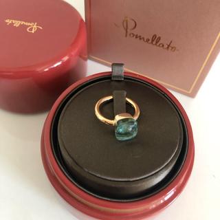 ポメラート(Pomellato)の極美品 ポメラート  ヌード ブルートパーズ 11号 12号  クラシック(リング(指輪))