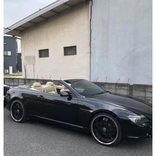 BMW - BMW 650iカブリオレ 希少左ハン 車検2年10月 ディーラー車 22アルミ