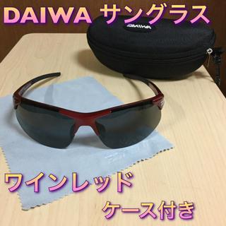 送料無料♦️新品♦️偏光サングラス DAIWA ダイワ  レッド(ウエア)