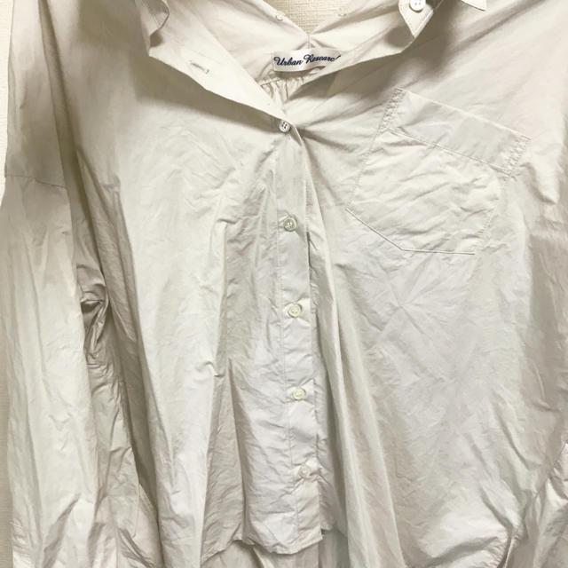 URBAN RESEARCH(アーバンリサーチ)のアーバンリサーチ バッグリボンシャツ レディースのトップス(シャツ/ブラウス(長袖/七分))の商品写真