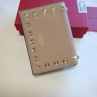 ヴァレンティノガラヴァーニ(valentino garavani)の新品★ヴァレンチノ 折りたたみ財布 人気カラー(財布)