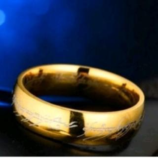 ◆特A品◆ドラゴン模様 ゴールドリング 16号(リング(指輪))