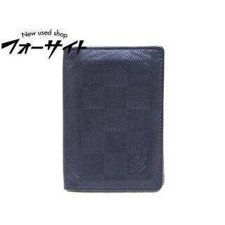 ルイヴィトン(LOUIS VUITTON)のヴィトン☆N63203 オーガナイザー ドゥ ポッシュ カードケース パスケース(名刺入れ/定期入れ)