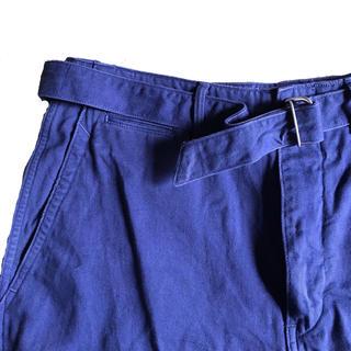 コモリ(COMOLI)のSteven Alan Belted short pants(ショートパンツ)