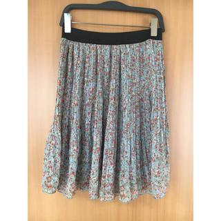グローブ(grove)のgrove花柄スカート(ミニスカート)