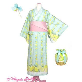 アンジェリックプリティー(Angelic Pretty)の最終値下げ!Angelic Pretty♡Fruity Lemon 浴衣Set(浴衣)