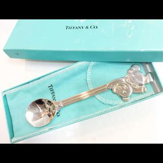 ティファニー(Tiffany & Co.)のティファニー くま シルバー スプーン 熊 18602616(スプーン/フォーク)