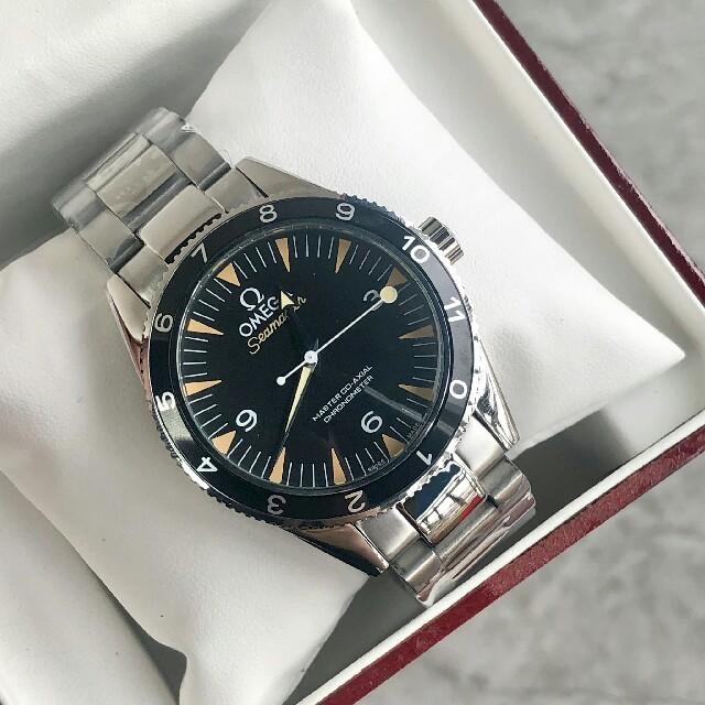 クロム ハーツ メンズ - OMEGA - OMEGA オメガSeamasterメンズ 腕時計 限定版 ブランド腕時計の通販 by jineer's shop|オメガならラクマ
