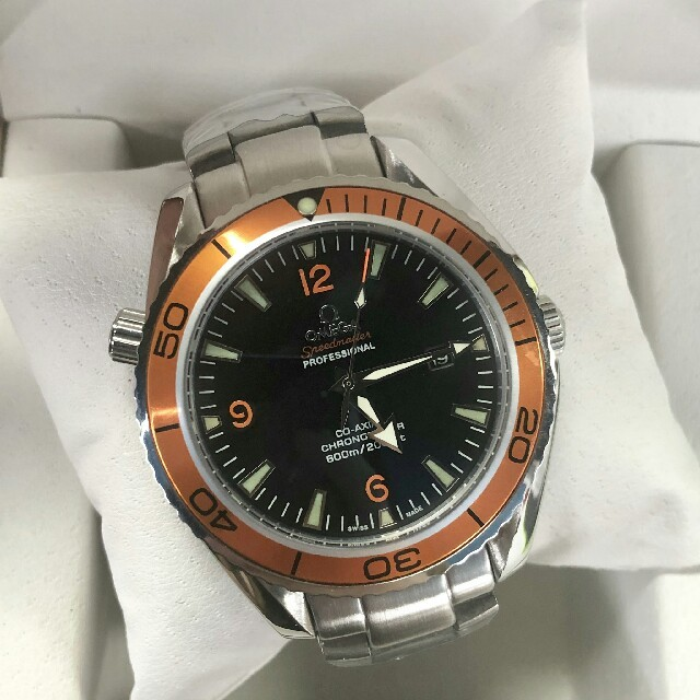 コピー時計 5ch 、 OMEGA - OMEGA 時計 腕時計 メンズ 自動巻 2208.50.00 の通販 by jineer's shop|オメガならラクマ