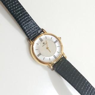 ミキモト(MIKIMOTO)のMIKIMOTO❇️14金 シェル文字盤 華奢ウォッチ (腕時計)