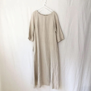 ネストローブ(nest Robe)のSARAH WEAR サラウェア リネン ドレス(ロングワンピース/マキシワンピース)