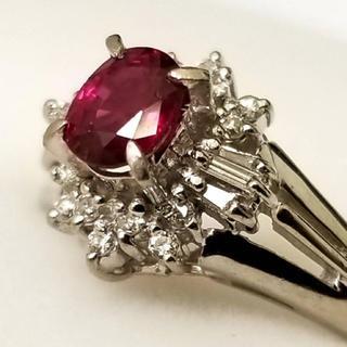 高級 ルビー ダイヤモンド リング  (リング(指輪))